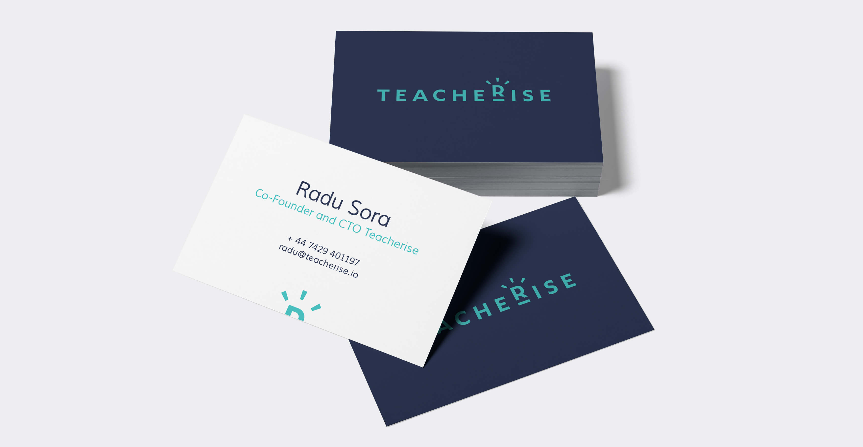 Teacherise business cards