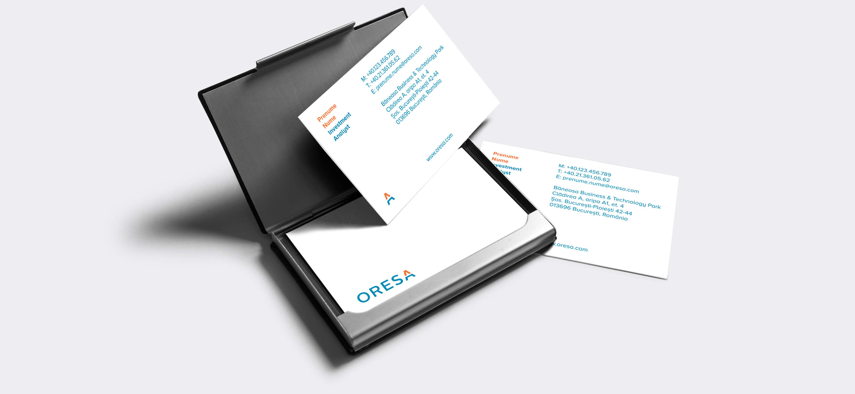 Oresa business cards