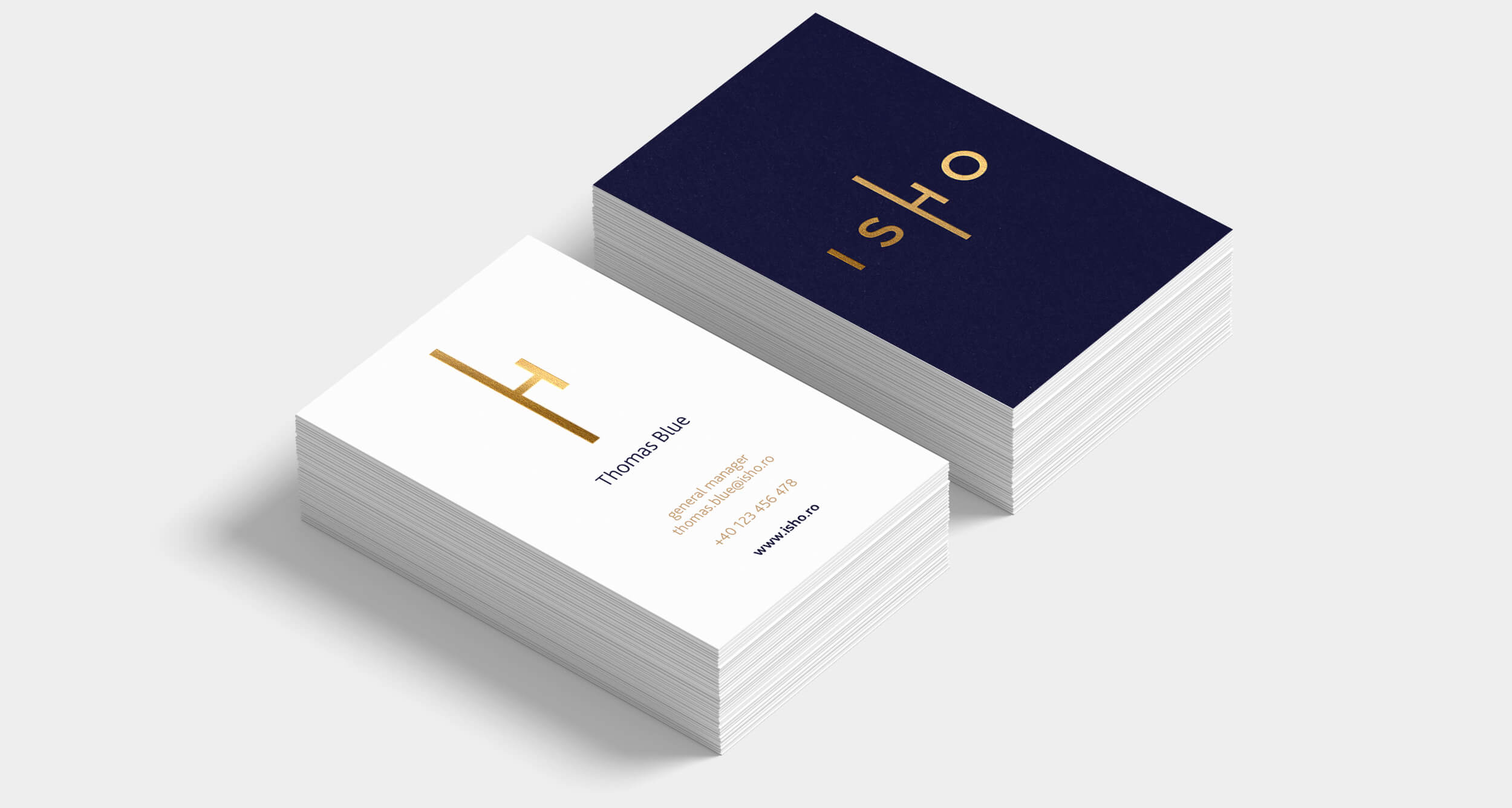ISHO business cards