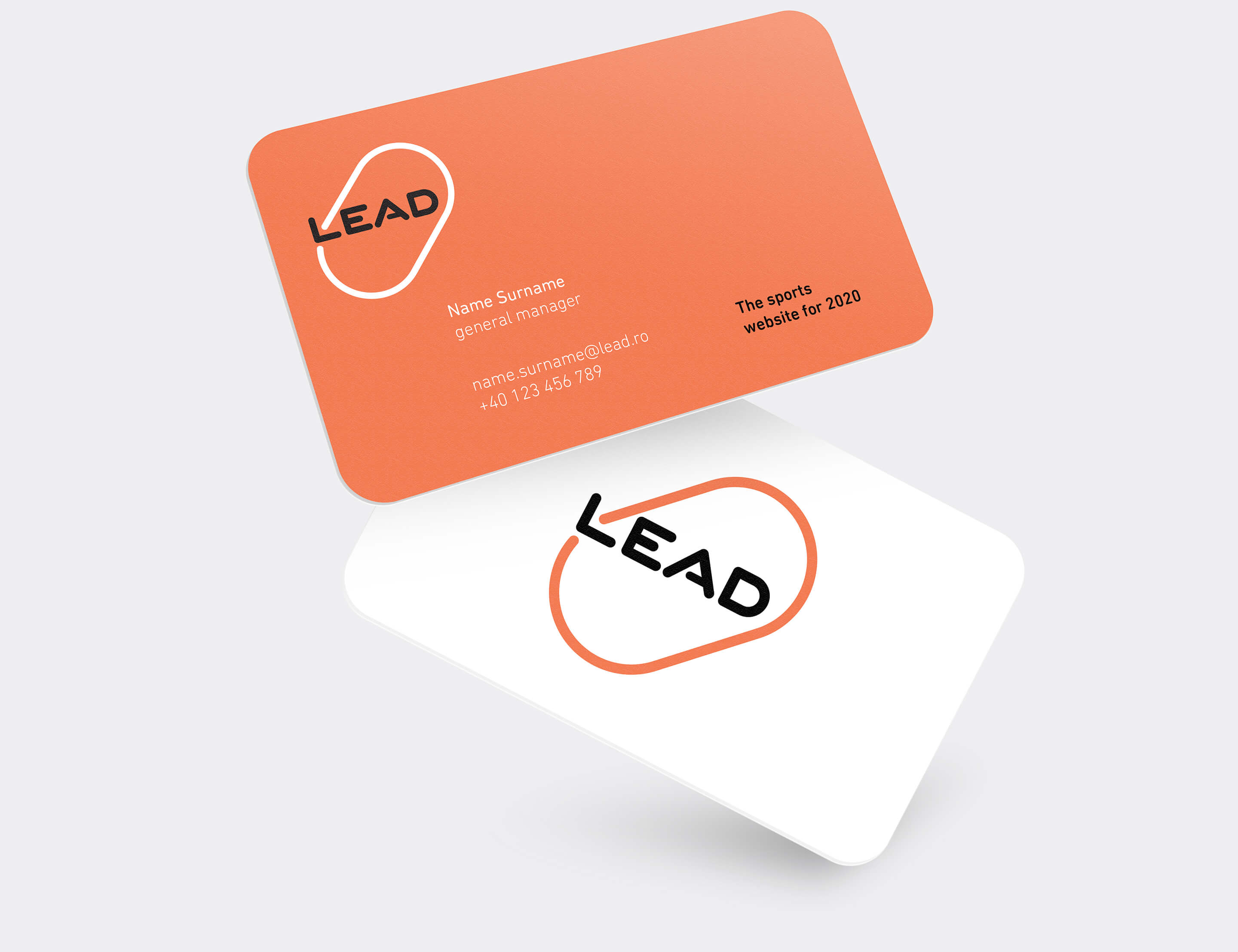 Lead business cards