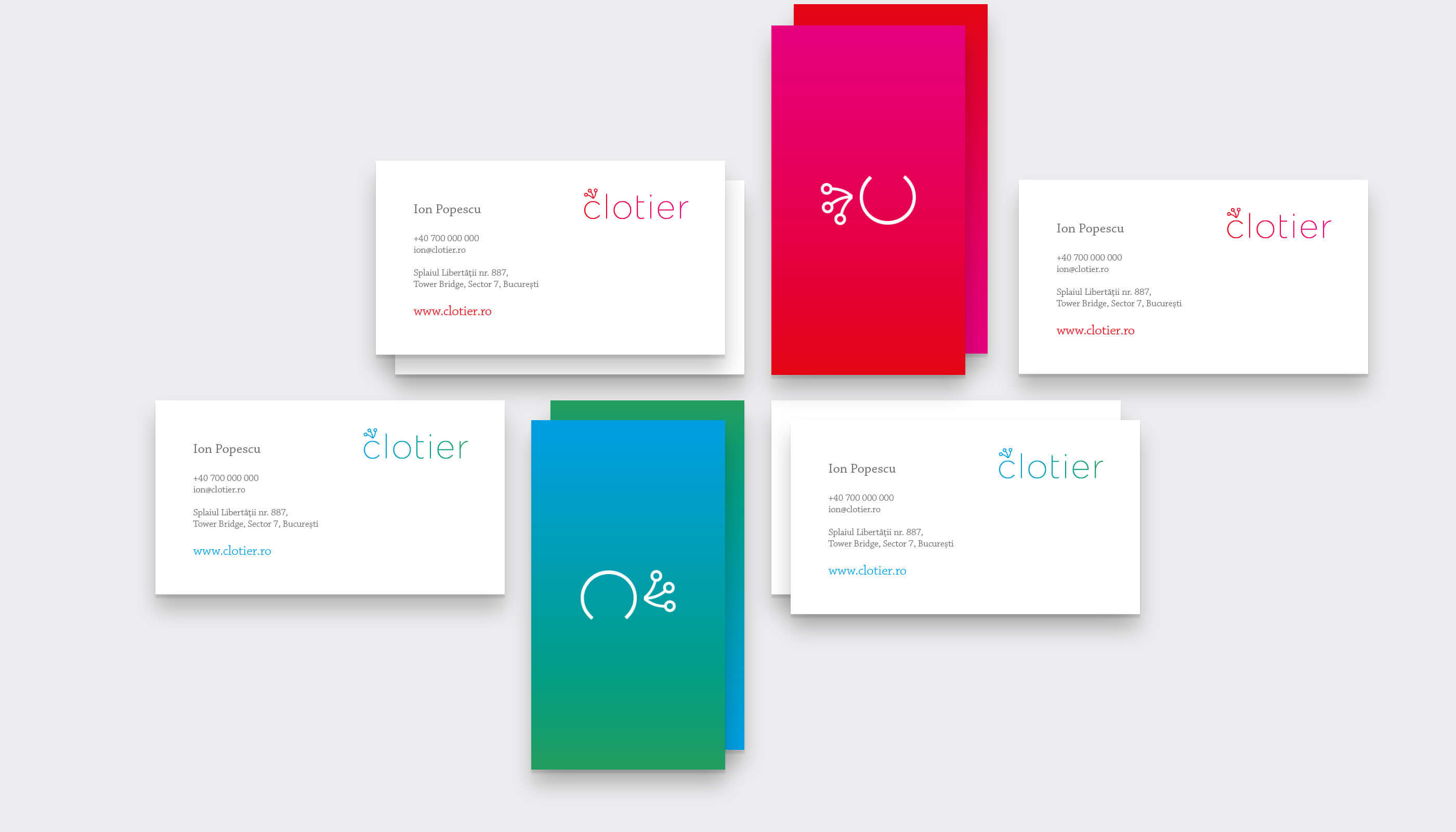 Clotier stationery