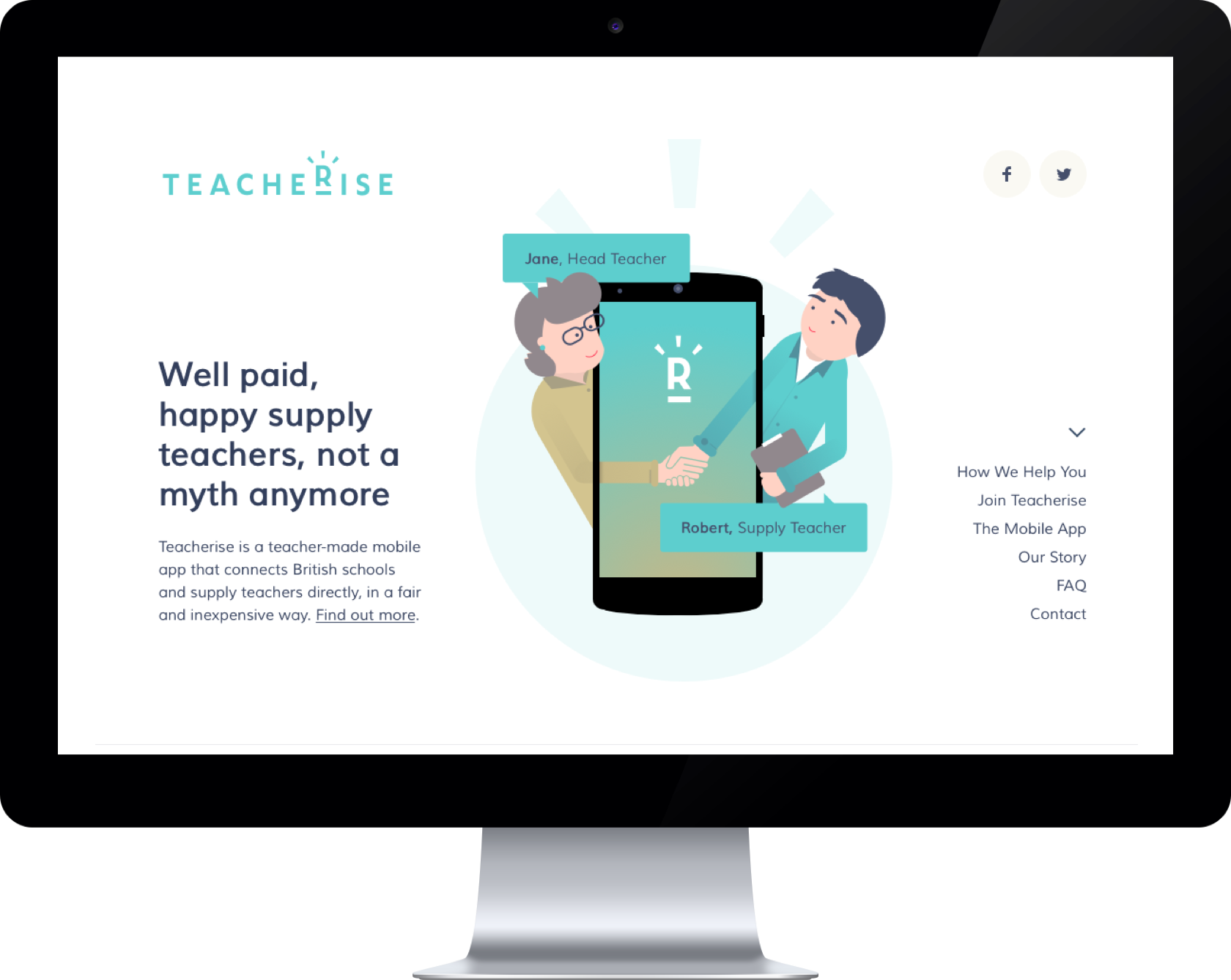 Teacherise website